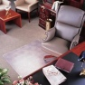 "ExecuMat Chair Mats - (300mil) 5/16"" thick are the thickest vinyl chairmats available."